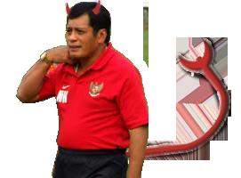 "Nurdin manajer "" Setan merah """